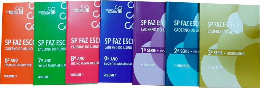 Caderno do Aluno - SP Faz Escola 2021